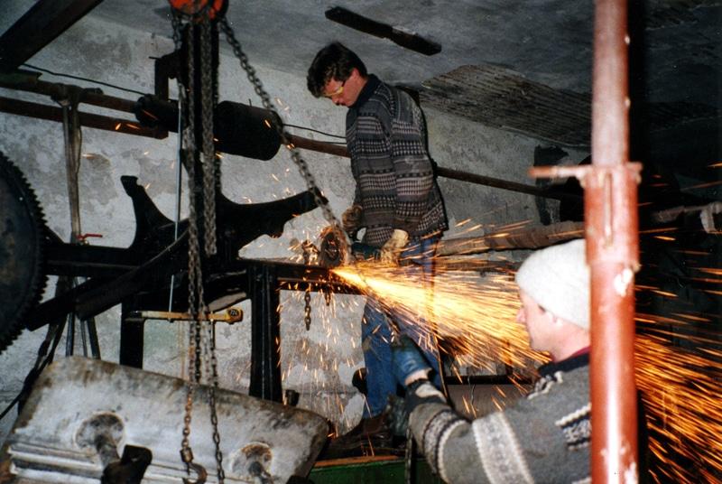 fabrication couettes en laine avec sauterelle