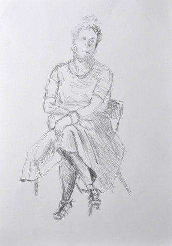 Left-hand sketch (2015)