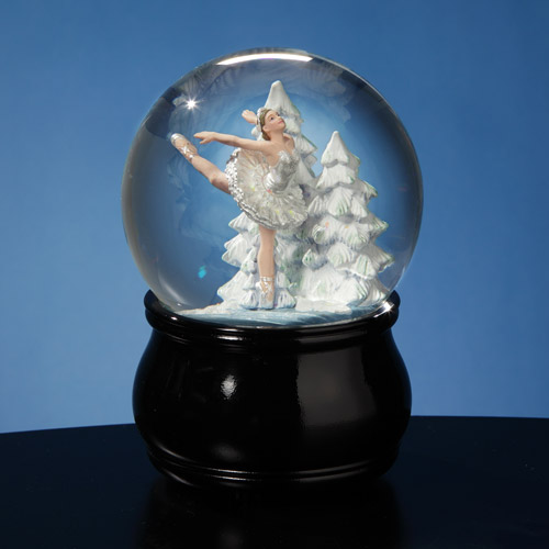 Swan Lake Ballet Waterglobe Unique Collectible Music