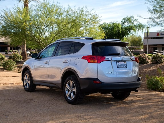 Compact SUV Comparison 2015 Toyota RAV4 Kelley Blue Book