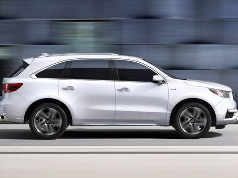 2019 Acura MDX Sport Hybrid Pricing Ratings Amp Reviews