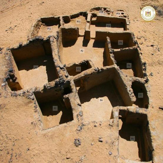 이집트 서부 사막의 5 세기 기독교 유적 발굴