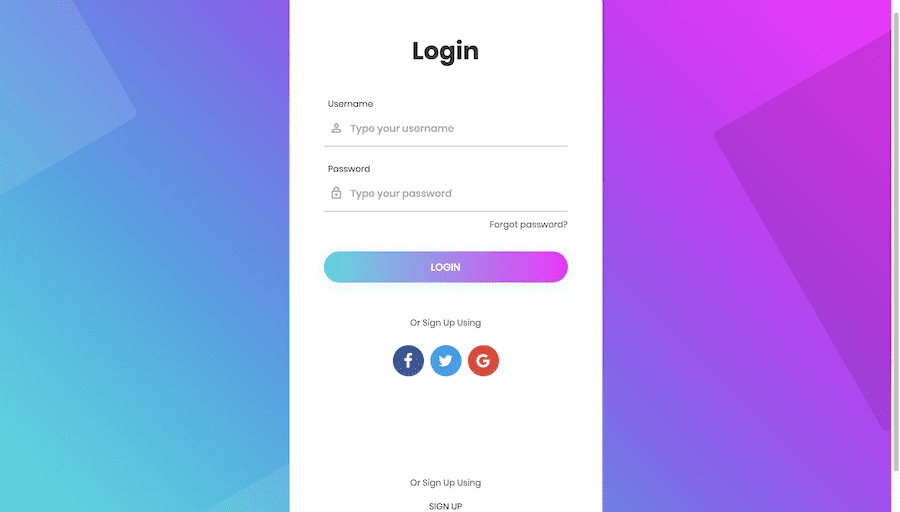 20 Best Login Page Examples And Responsive Templates Free