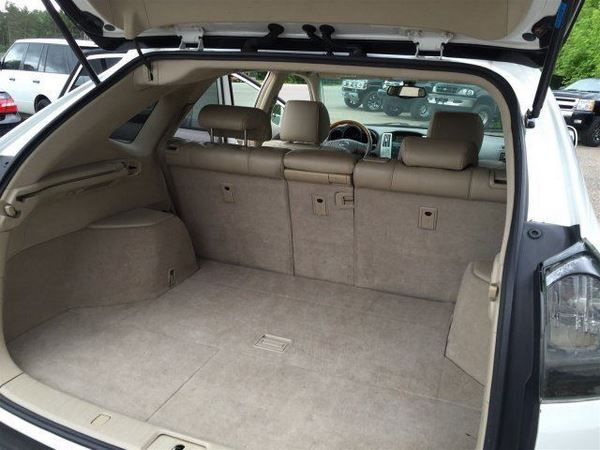 The 2005 Lexus RX330 luggage bay