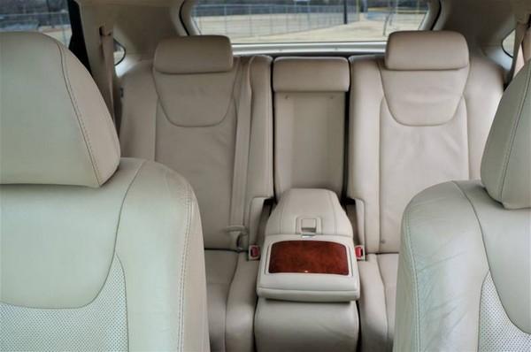 Lexus 2010 RX 350 seats
