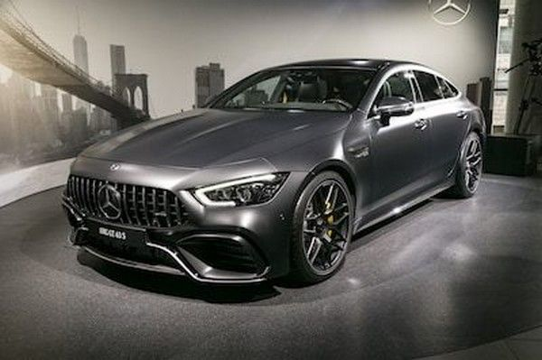 2019 Mercedes-AMG GT 4-Door Coupe at New York 2018