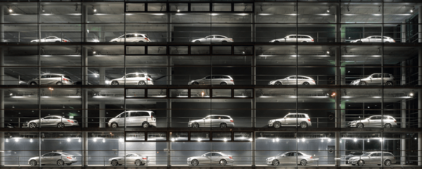The Mercedes-Benz Showroom