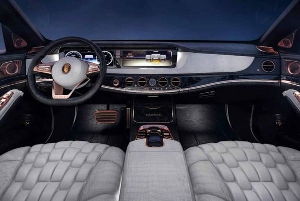 Mercedes Maybach S600 Emperor 2016 interior