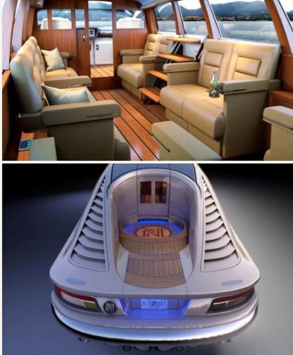 The amphibious Limousine, TENDER 33