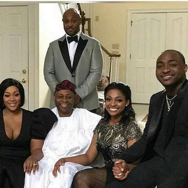 Dr. Deji Adeleke's family