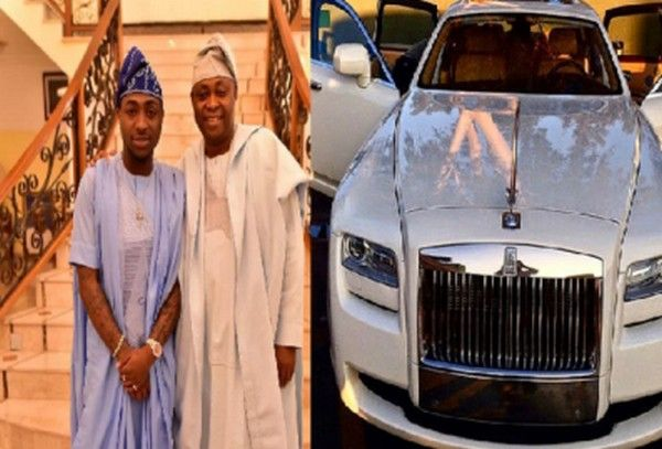 Davido father's house and car