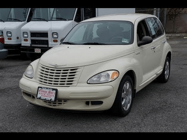 angular front of the Chrysler PT Cruiser