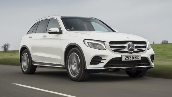 Angular front of the Mercedes-Benz GLC-Class