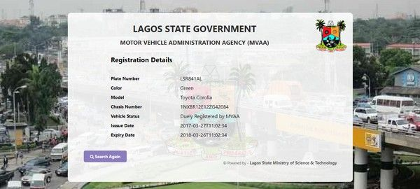 MVAA website design