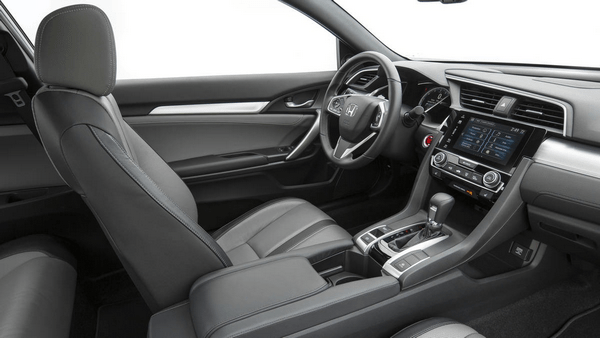 The-cabin-of-the-Honda-Civic-coupe