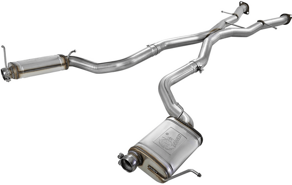 The car-back exhaust system