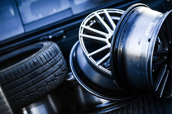 Tyre and alloy wheels