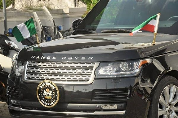 Governor-Wike-rivers-state's-Range-rover-SUV