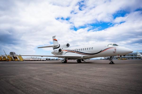 Mike Adenuga's Private Jet