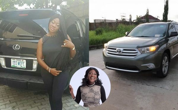mercy-johnson-car-collection