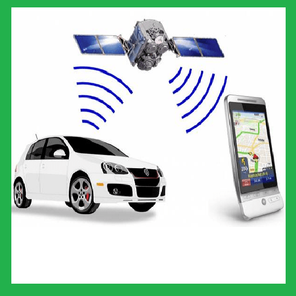car-and-tracker-system