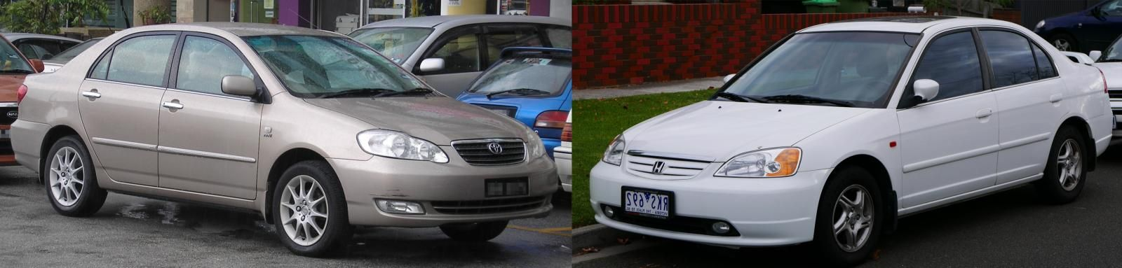 2005-Corolla-vs-Civic-front-view