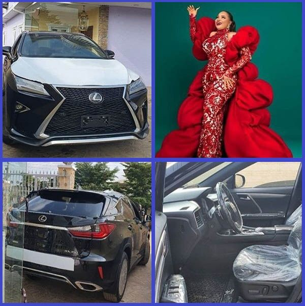Brand-new-Lexus-RX-350-SUV-bought-by-Okiki-Afolayan-for-his-wife