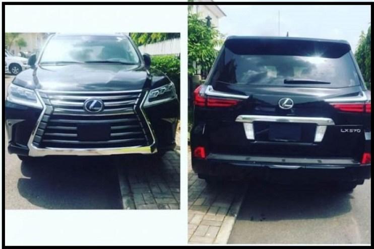 2017-lexus-car-belonging-to tonto-dikeh