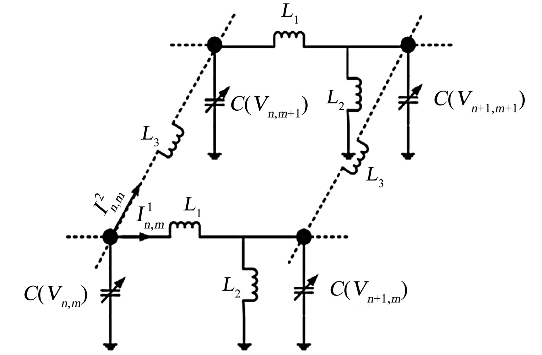 Transverse Stability In The Discrete Inductance