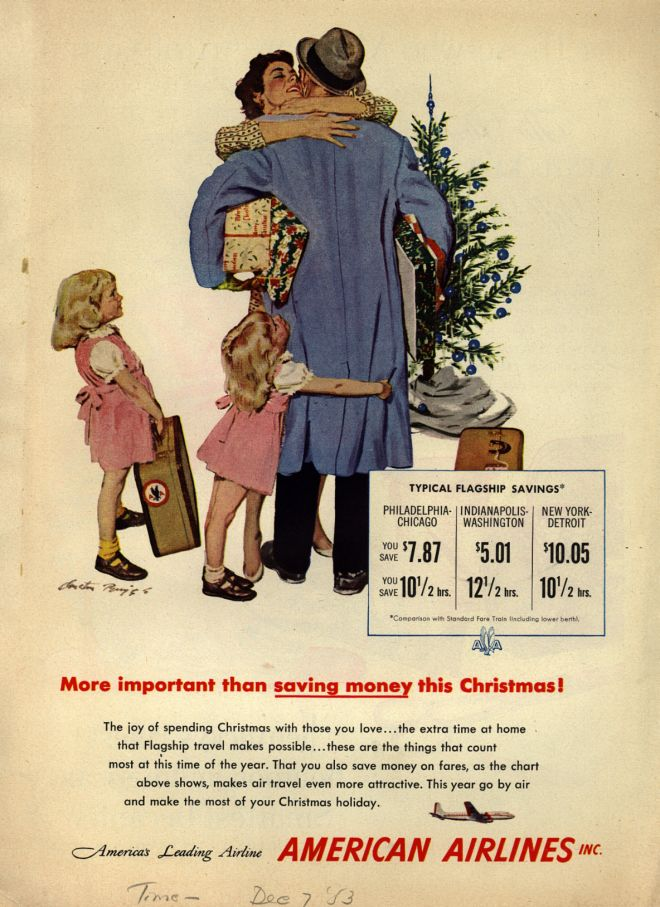 Vintage Xmas Advertisements Of The 1950s Page 2