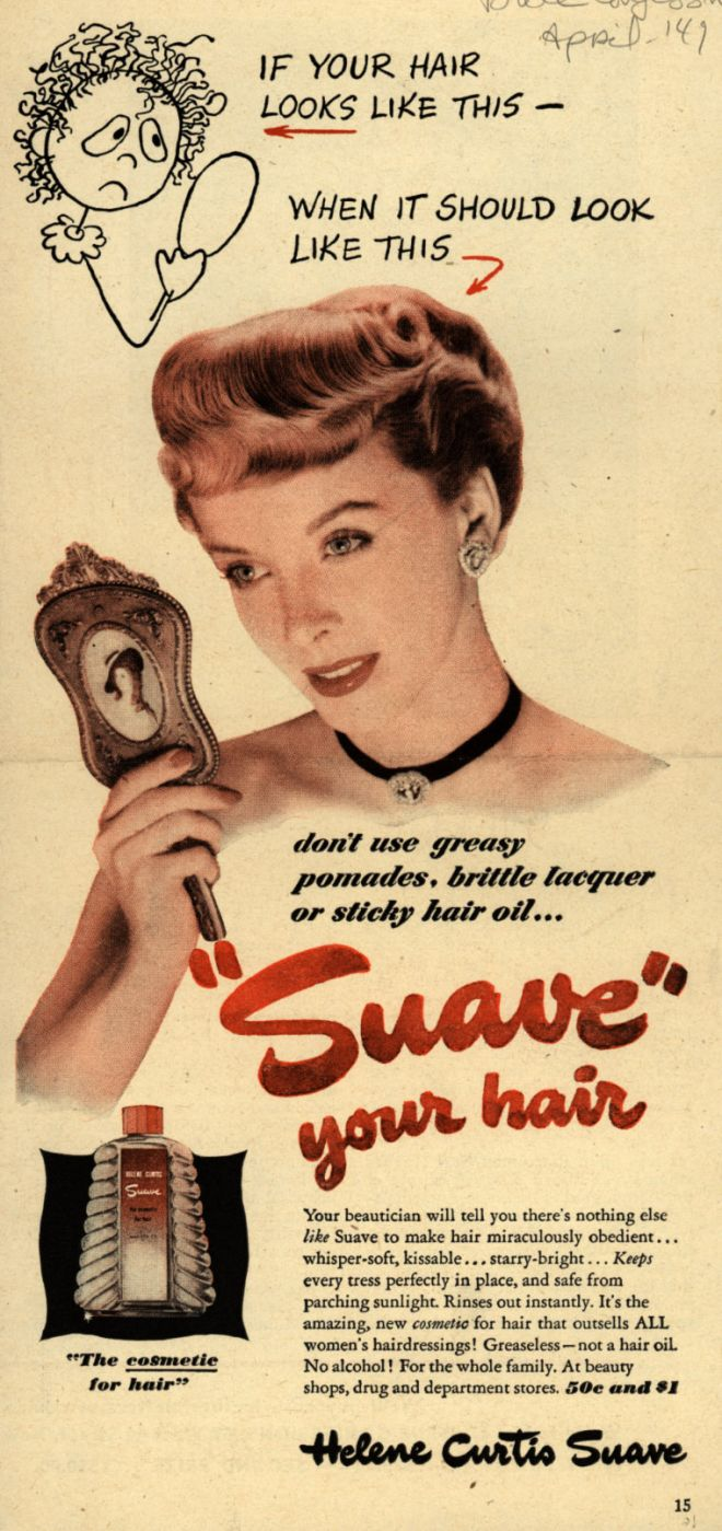 Vintage Beauty And Hygiene Ads Of The 1940s Page 100