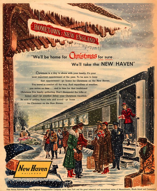 Vintage Xmas Advertisements Of The 1950s Page 4