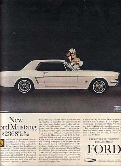 Ford's Mustang/ Cobra (1964)