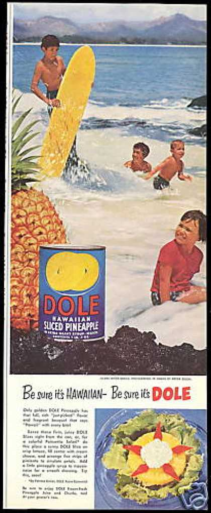 Dole Pineapple Hawaii Beach Anton Bruehl Photo (1953)
