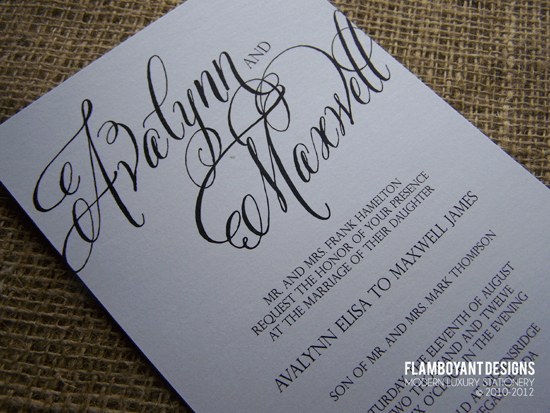 Best Hand Lettered Fonts For Weddings Snippet Ink