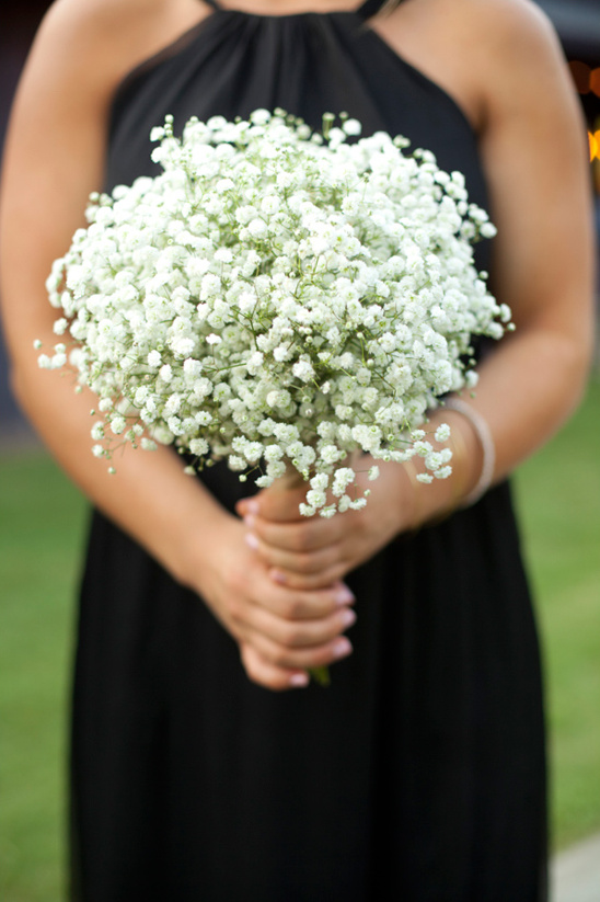 Baby S Breath Bouquet How To Wrap Your Own Bouquet