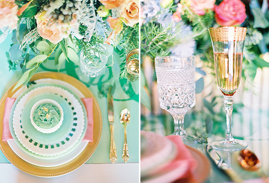 Picturesque Mint And Green Wedding Ideas