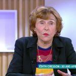 Edith Cresson :sa réponse cash à une insulte sexiste des agriculteurs