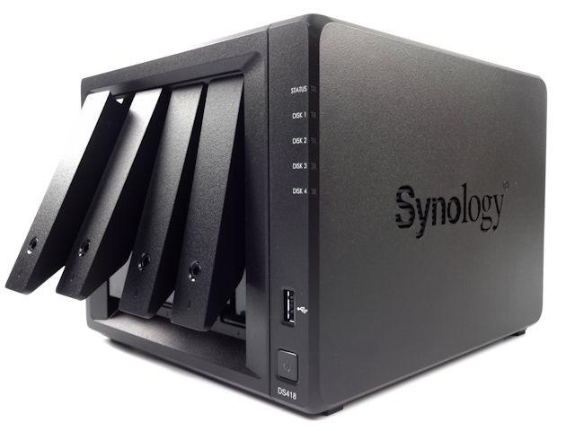 「4bays」窮人備份恩物! Synology DiskStation 418 - 電腦領域 HKEPC Hardware - 全港 No.1 PC網站