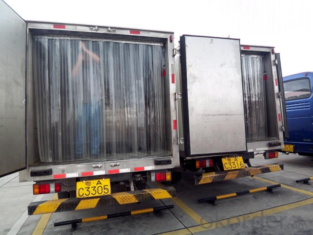 pvc strip door curtain used for food