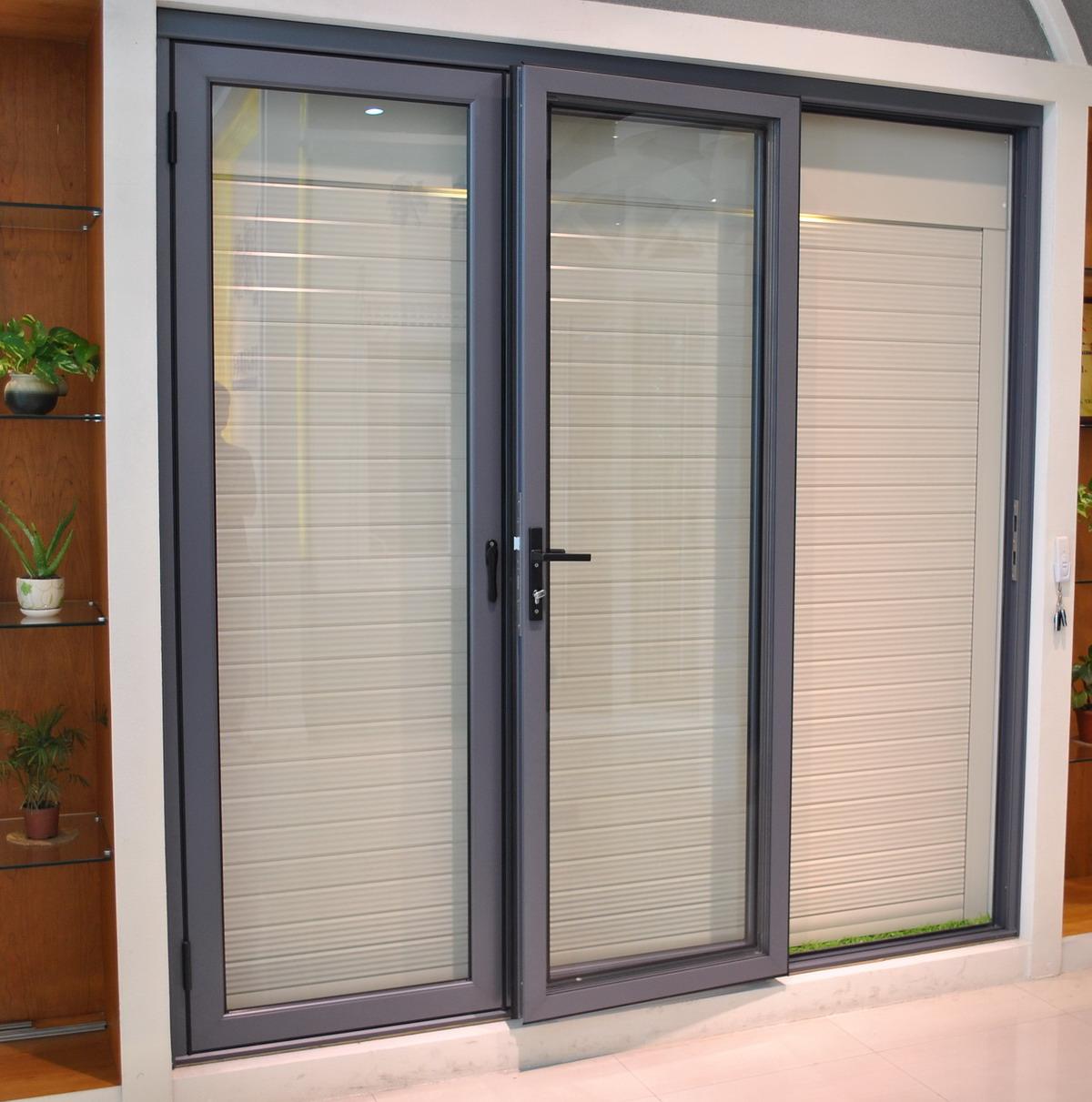 aluminium windows and doors used