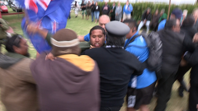 Protests at Waitangi Day Celebrations