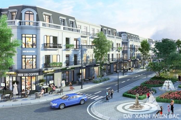 dự án nhà phố thương mại mới