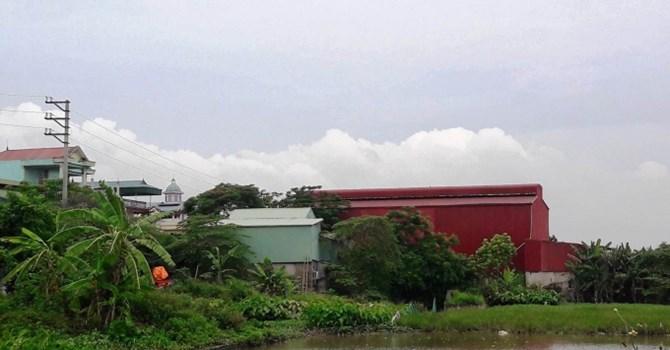 xây nhà xưởng trên đất nông nghiệp
