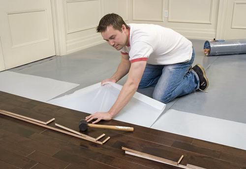 Lưu ý khi lắp đặt sàn gỗ