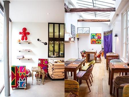 Kiến trúc độc đáo của quán cà phê