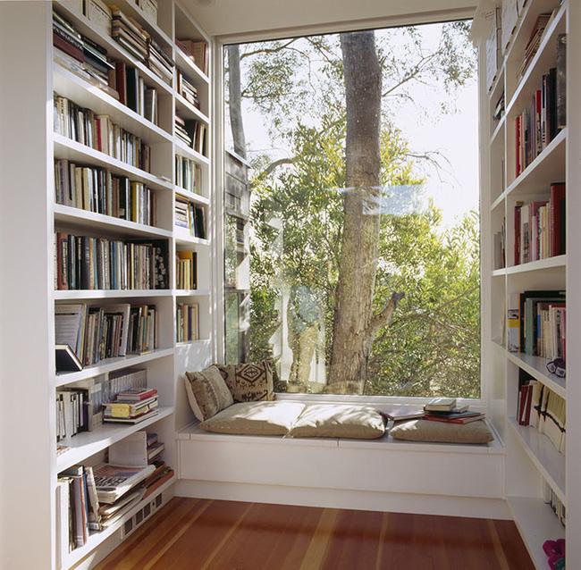 phòng sách đẹp