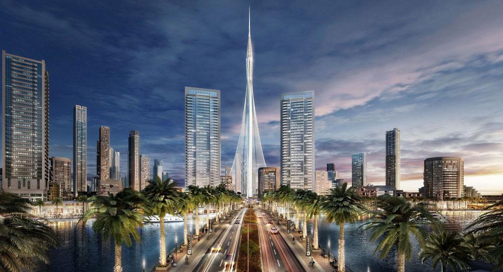 Phối cảnh tòa tháp cao nhất thế giới