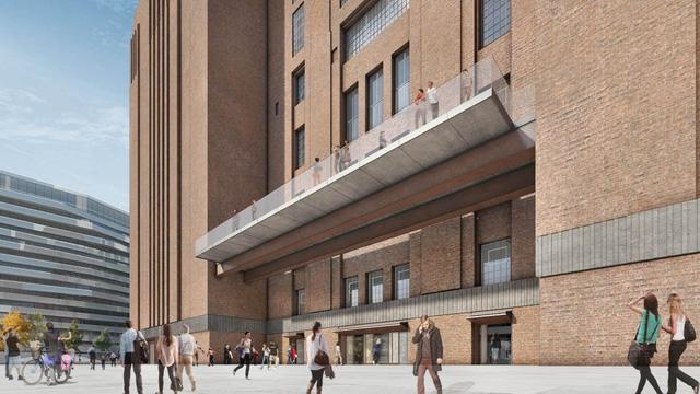 Tòa nhà bằng gạch lớn nhất London