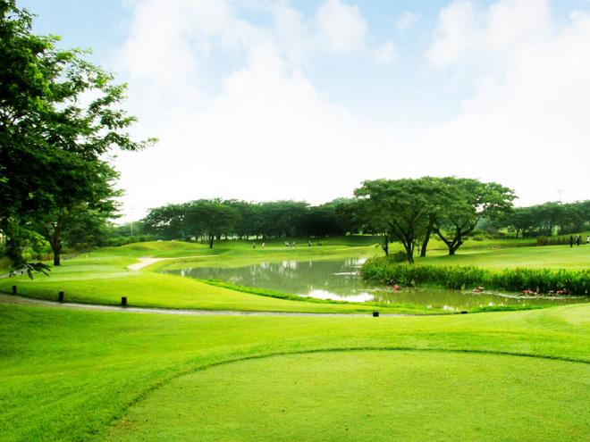 Khu nhà vườn du lịch sinh thái và sân tập golf Vân Tảo